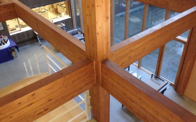 木質二方向ラーメン構造