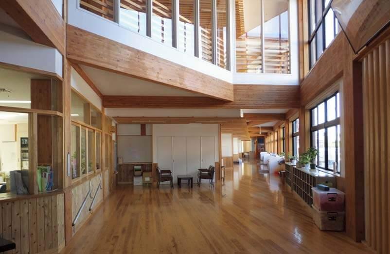 木造建築の施工事例:守谷市立 守谷小学校 4枚目