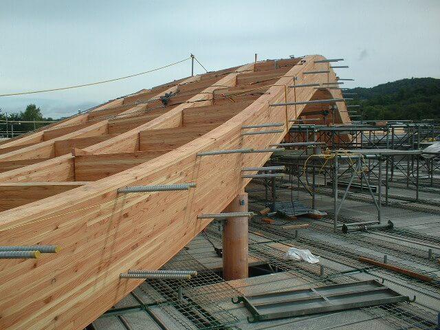 木造建築の施工事例:陸別町立陸別小学校 5枚目