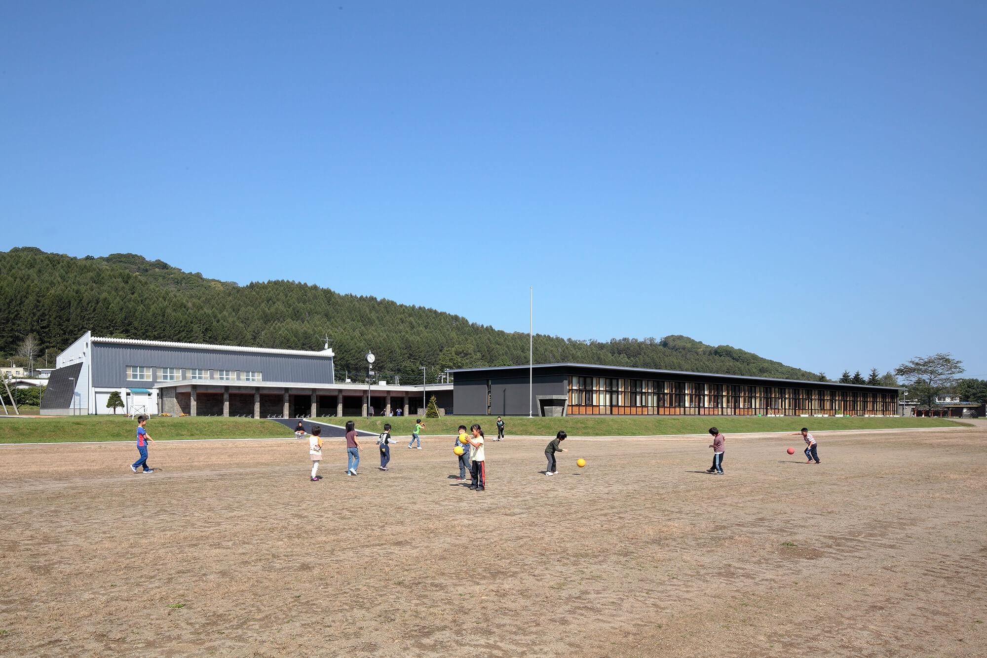 木造建築の施工事例:陸別町立陸別小学校 3枚目