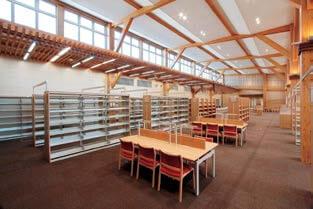 木造建築の施工事例:城南図書館・児童館(図書館棟) 3枚目
