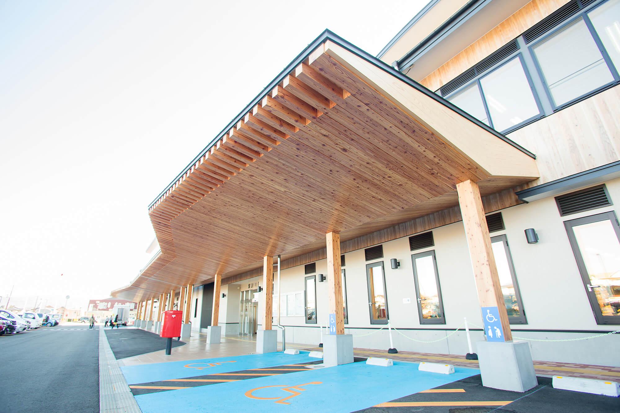 木造建築の施工事例:紫波町庁舎 5枚目