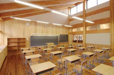 木造建築の施工事例:亀山市立関中学校 3枚目
