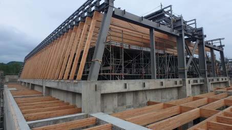 木造建築の施工事例:北見市立留辺蘂小学校 4枚目