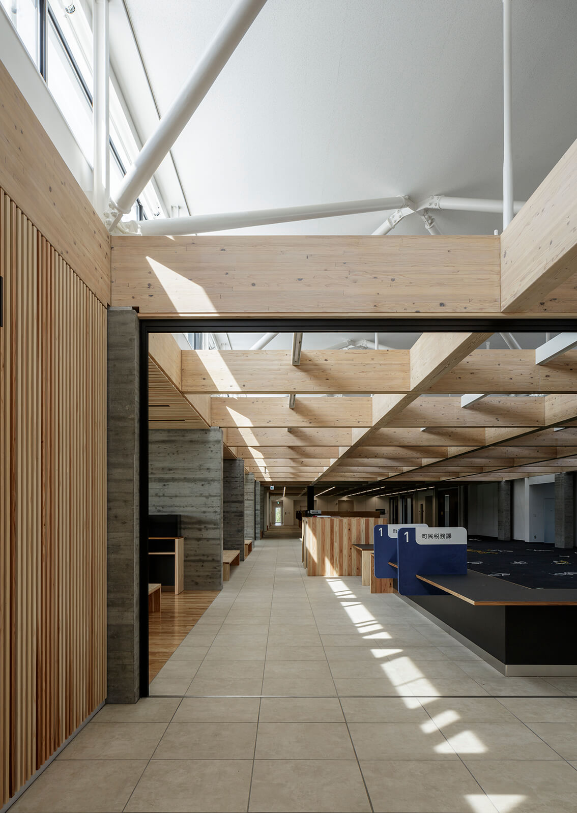 木造建築の施工事例:南三陸町役場庁舎 5枚目