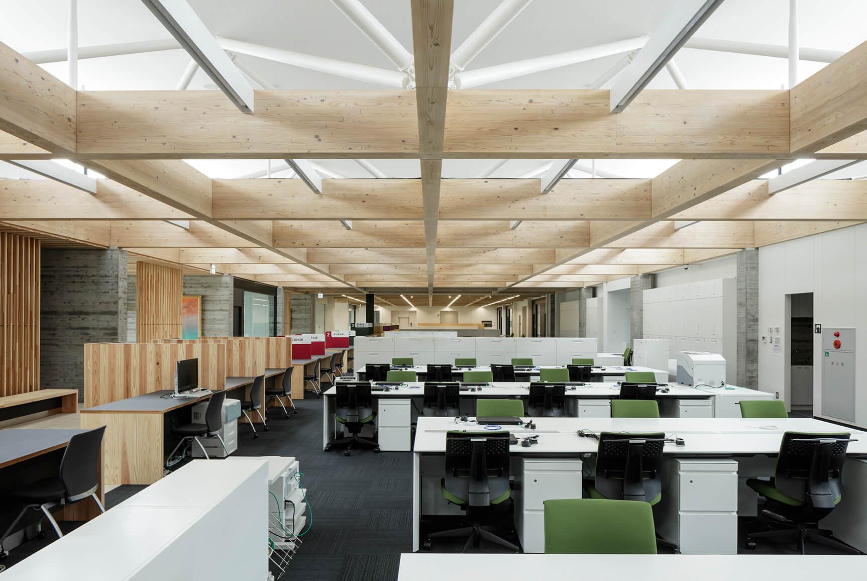 木造建築の施工事例:南三陸町役場庁舎 6枚目