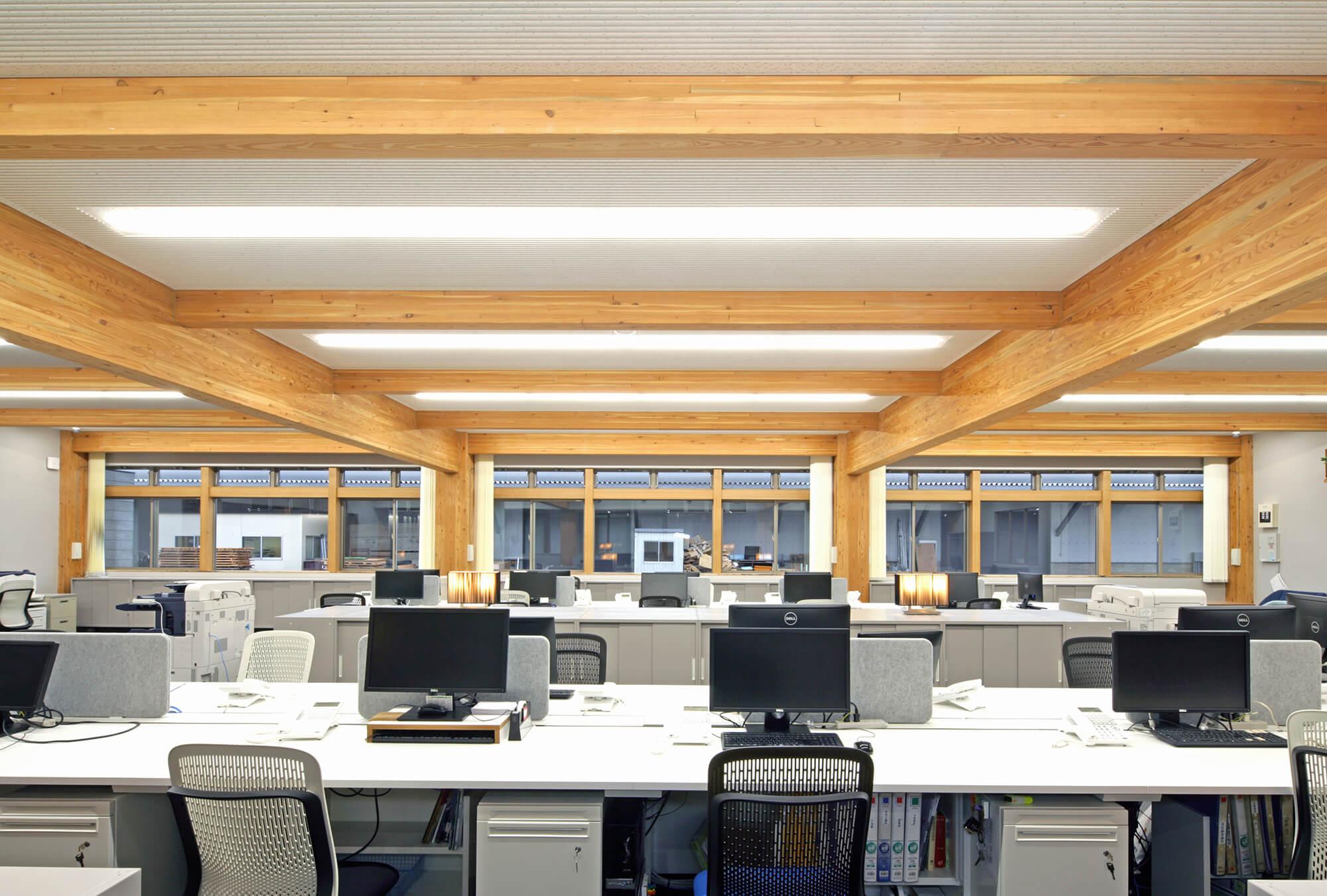 木造建築の施工事例:株式会社タッセイ 金沢支店 5枚目