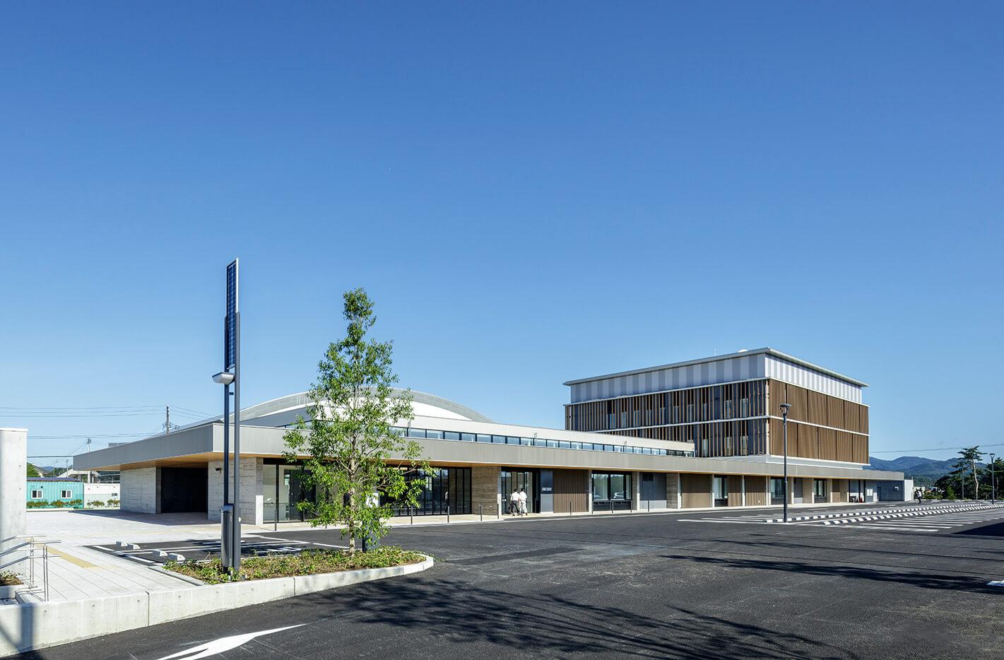 木造建築の施工事例:南三陸町役場庁舎 2枚目