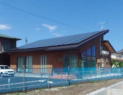 木造建築の施工事例:日本エコシステム㈱浜松事業所 3枚目
