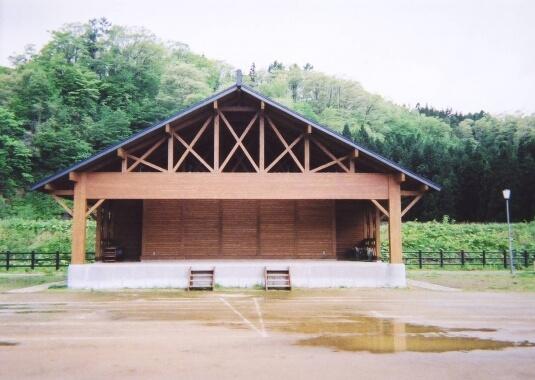 桧木内地区 屋外ステージ