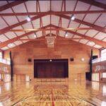 鶴岡市立湯野浜小学校(体育館)