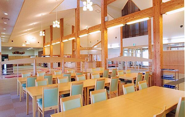 木造建築の施工事例:徳良湖温泉 花笠の湯 2枚目