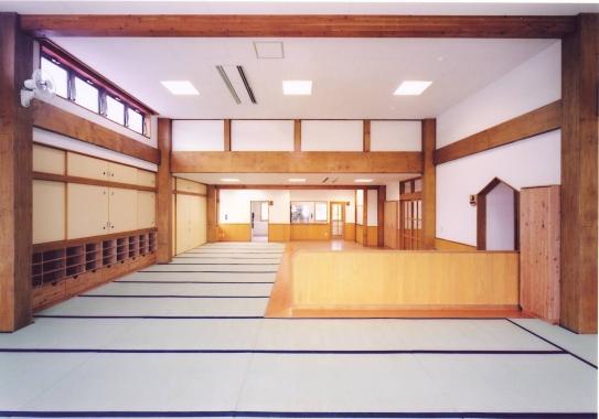 木造建築の施工事例:湯沢市立おがち保育園 2枚目
