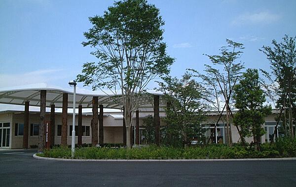 木造建築の施工事例:常陸大田市総合福祉会館 1枚目