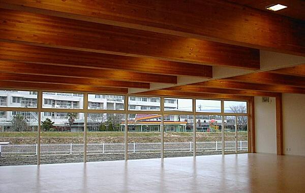 木造建築の施工事例:常陸大田市総合福祉会館 2枚目