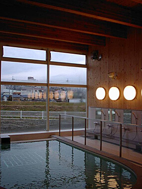 木造建築の施工事例:常陸太田地方広域事務所清掃センター 温水プール 2枚目