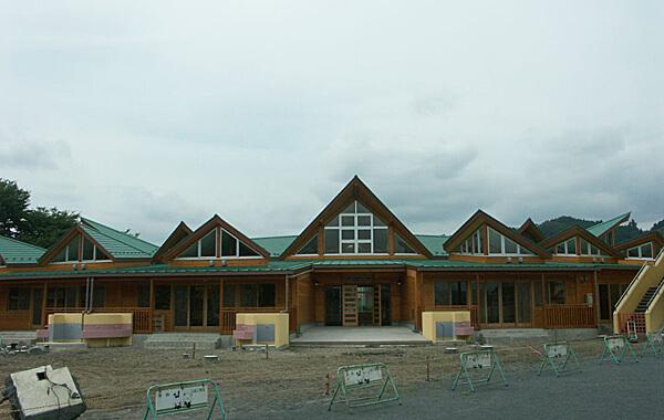 木造建築の施工事例:小鹿野町立小鹿野保育所 2枚目
