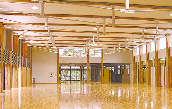 木造建築の施工事例:横手市増田町総合子育て支援施設 ますだ保育園 2枚目