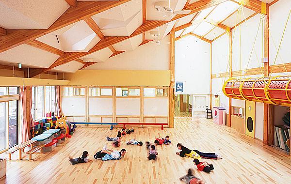 木造建築の施工事例:男鹿市立船越児童福祉センター 2枚目