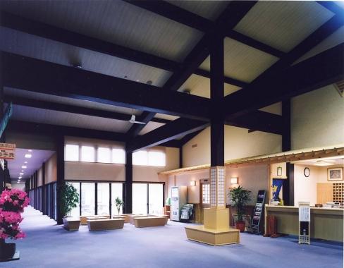木造建築の施工事例:史跡の里交流プラザ 棚の湯 2枚目