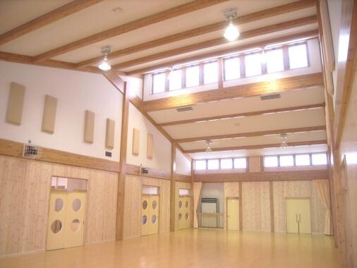 木造建築の施工事例:南部児童センター 2枚目