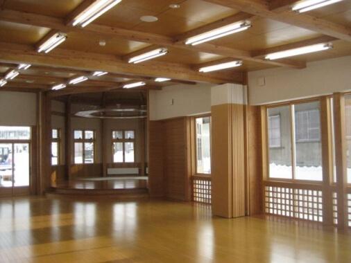 木造建築の施工事例:最上町すこやかプラザ 2枚目