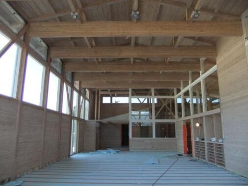 木造建築の施工事例:上田市武石「ふれんず」 2枚目