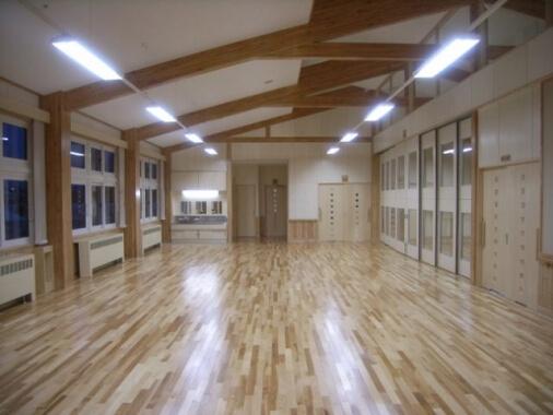 木造建築の施工事例:足寄町立足寄小学校 2枚目