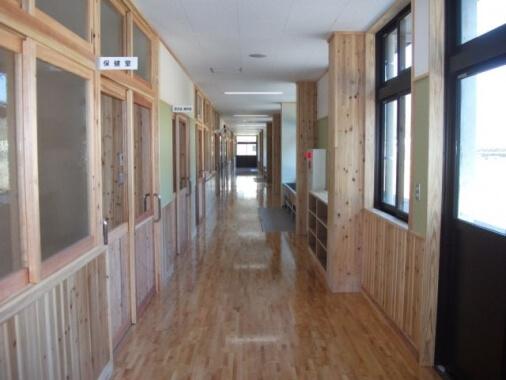木造建築の施工事例:東郷小中一貫校 東郷学園 2枚目