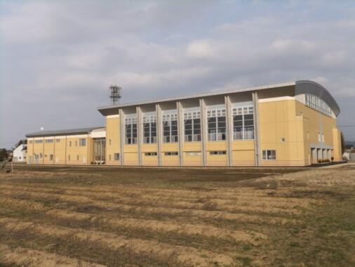 木造建築の施工事例:栄体育館 1枚目