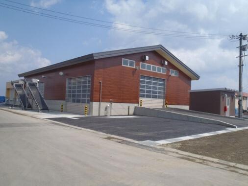 蟹田地区水産物荷捌き施設