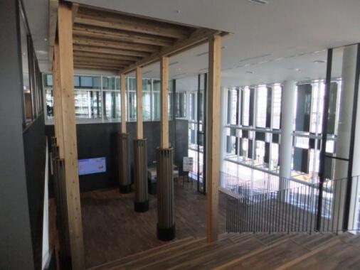 木造建築の施工事例:東部地域振興ふれあい拠点施設 ふれあいキューブ 3枚目