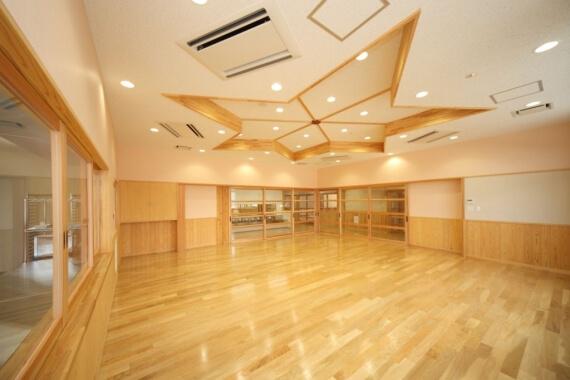 木造建築の施工事例:奥出雲町立横田幼児園 2枚目
