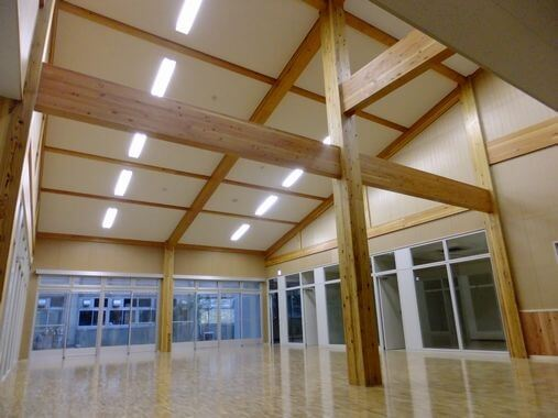 木造建築の施工事例:(国)埼玉大学総合研究棟 2枚目