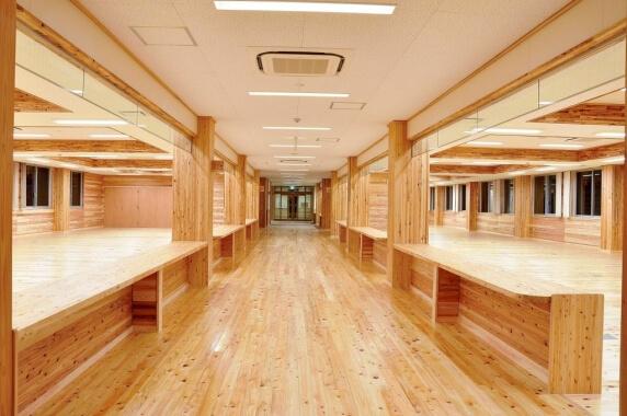 木造建築の施工事例:上天草松島庁舎兼保健センター 2枚目