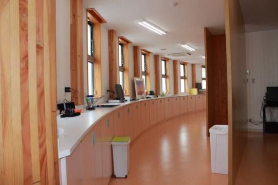 木造建築の施工事例:日光診療所 2枚目