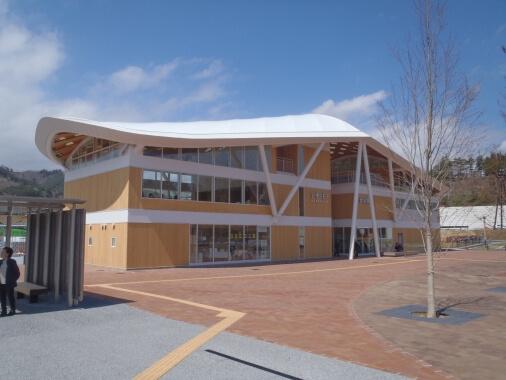 JR女川駅・女川町温泉温浴施設ゆぽっぽ