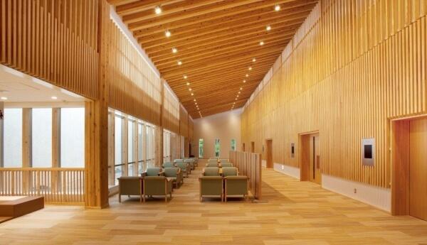 木造建築の施工事例:秩父斎場 2枚目