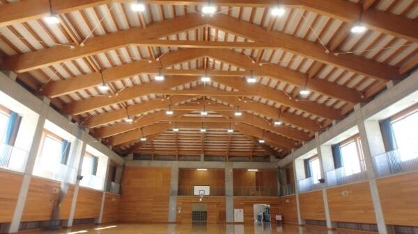 木造建築の施工事例:兵庫県立西神戸高等特別支援学校 2枚目