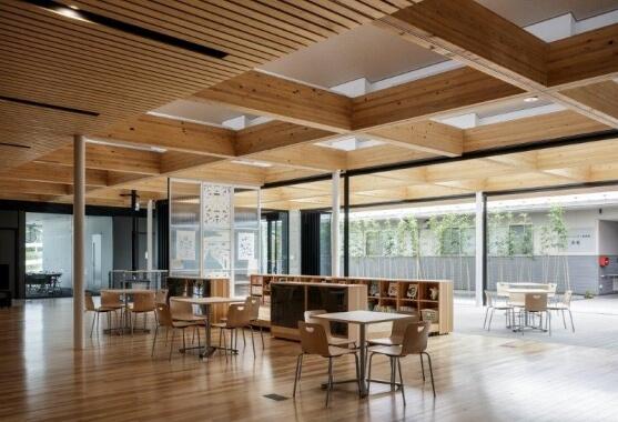 木造建築の施工事例:南三陸町役場本庁舎 歌津総合支所 2枚目