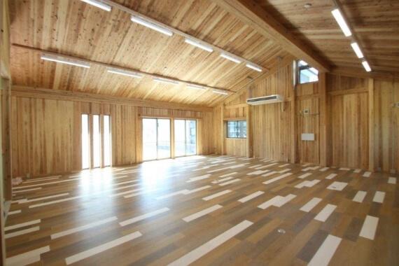 木造建築の施工事例:日本エコシステム㈱浜松事業所 2枚目