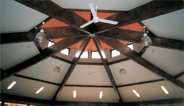 木造建築の施工事例:塩谷町立玉生保育園 2枚目