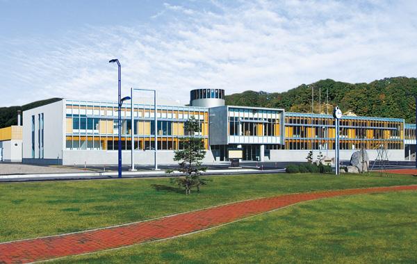 木造建築の施工事例:足寄町役場庁舎 2枚目