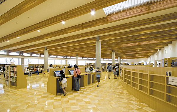 杉戸町生涯学習センター・杉戸町立図書館 カルスタすぎと