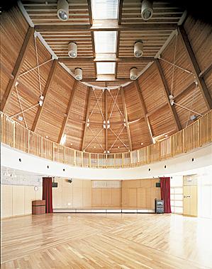 木造建築の施工事例:大多喜町立老川小学校 2枚目