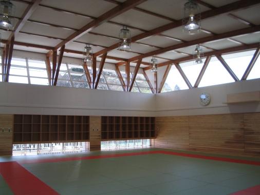 木造建築の施工事例:千葉県立茂原高等学校 2枚目