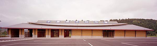 千葉県木材市場協同組合 木材市売倉庫