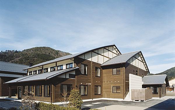 木造建築の施工事例:木の国七宗コミュニティセンター 1枚目