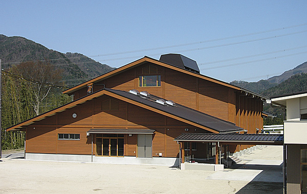 永源寺木造交流施設
