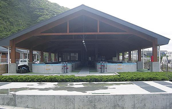 和歌山県農林水産総合技術センター 水産試験場 屋外水槽棟